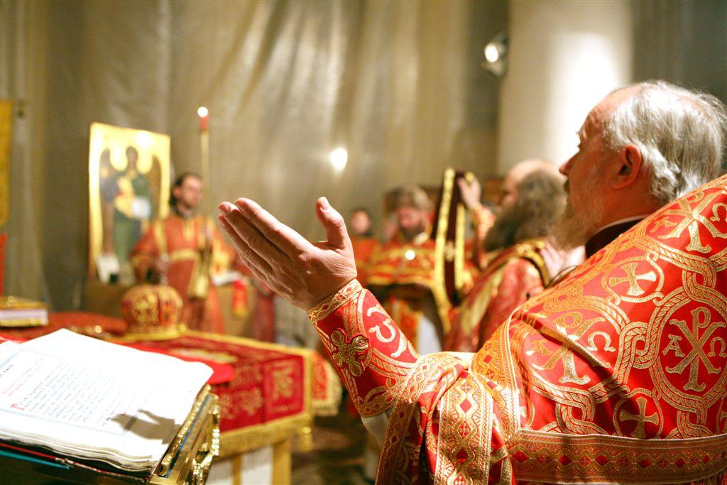 Молитва священников