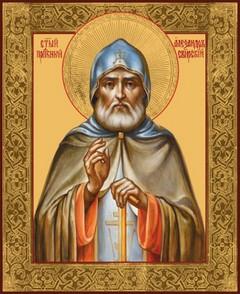 мощи преподобного Александра Свирского в Благовещенском храме
