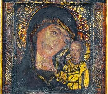 Казанская-Нижнеломовская икона Божией матери